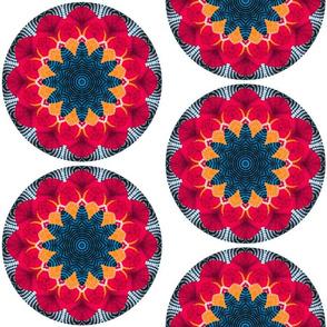 Kaleidoscopic Umbrellas