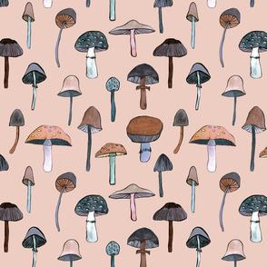mushroom roze small