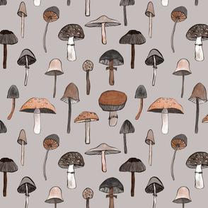 mushroom grijs 25_