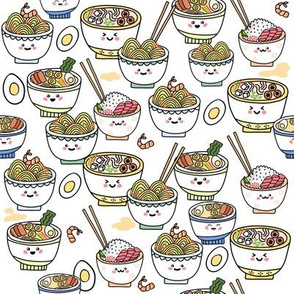 Cute Kawaii Ramen Noodles