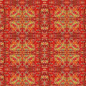Red Bohemian Swirl