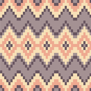 Pink and Purple Aztec Pattern