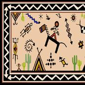 Tucson AZ Tea Towel - My Home Town