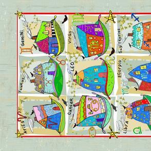 Zodiac Tea Towel Challenge