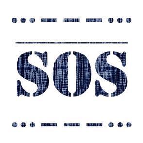 SOS_shibori