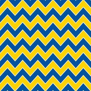 delaware chevron - blue and yellow chevron, delaware design,