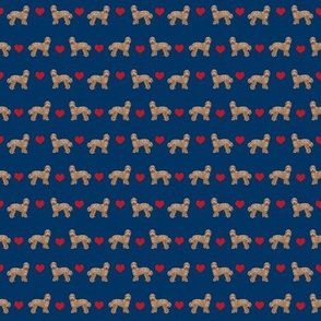 outdoors dog fabric - cars, trucks  labradoodle