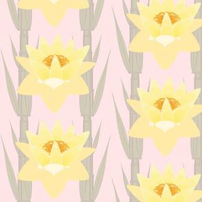 Lotus and Bamboo 1-pink tint