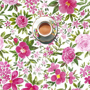 Tea Room Tablecloth