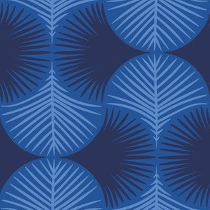 Tropical geometry - navy