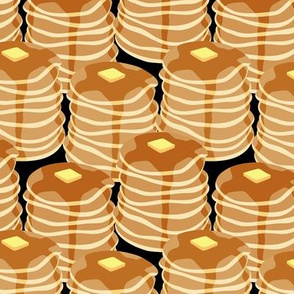 Pancake stacks - black - LAD19