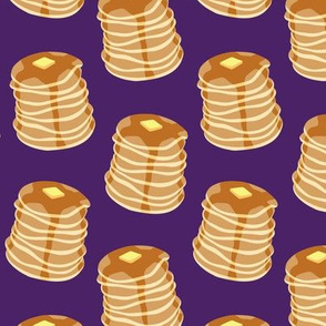 Pancake stacks - purple  - LAD19