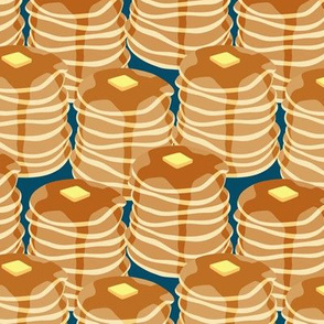 Pancake stacks - blue - LAD19