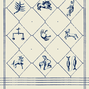 wedgewood zodiac tee towel