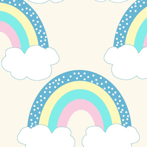 jumbo Romper Rainbow