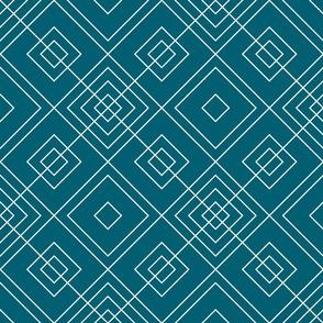Geometric blue_013