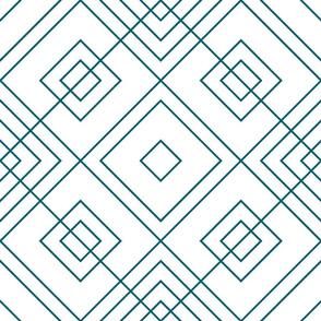 Geometric blue_017