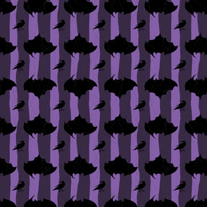 Halloween in purple mood