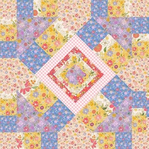 Farmhouse Kaleidoscope Quilt