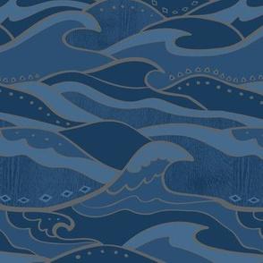 Steve's Waves, Dark Ocean, Small