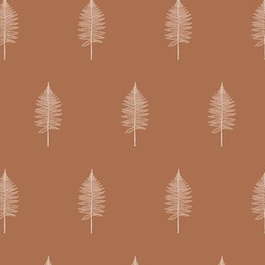 Vintage Fern in Camel