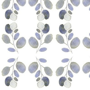 Countryside Leaf Wreaths on White