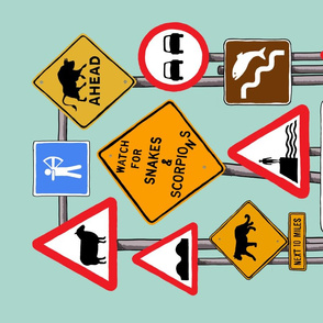 Road Signs of the Zodiac