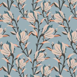 Magnolia - Dusty Blue