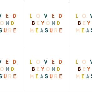 6 loveys: loved beyond measure