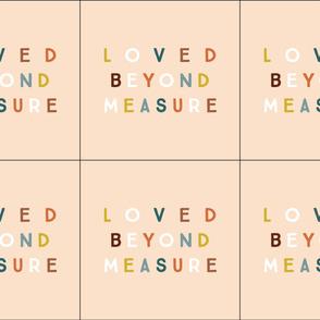 6 loveys: loved beyond measure on petal