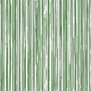 Green and White Stripe Texture - Vertical