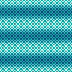 Blue Aqua Ombre