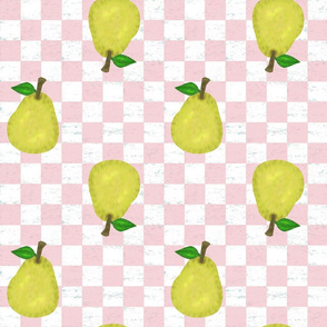 Checked Pears
