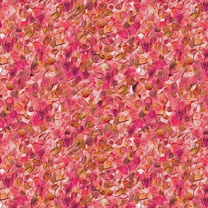 Pastel Fleurs - hot pinks