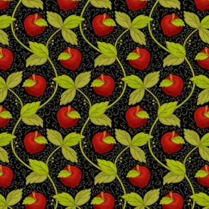 Once upon an apple_Bg Black