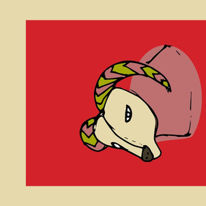 Retro Zodiac Aries Tea Towel