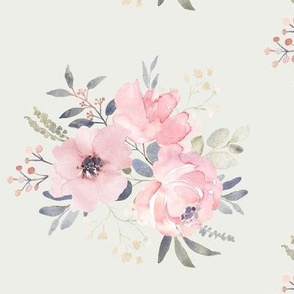 Countryside Blush Bouquet on Cream-01