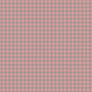 Houndstooth Pink _ Gray