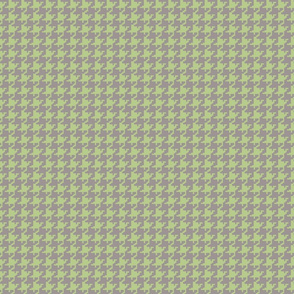 Houndstooth Green _ Gray