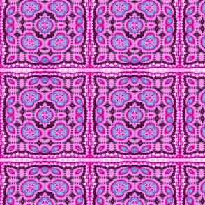 Pretty Pink Squares