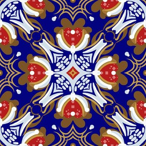 """8"""" Gingerbread Square 1 