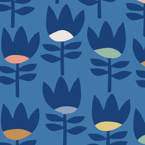 Blue Garden { Dusk }
