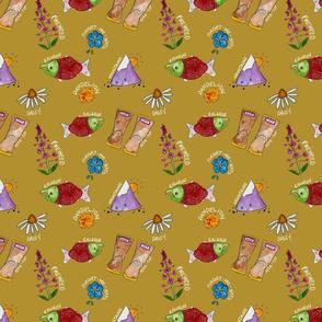 Alaska Love- Mustard