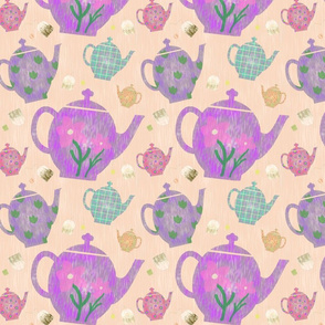 Teapot Jumble Pink