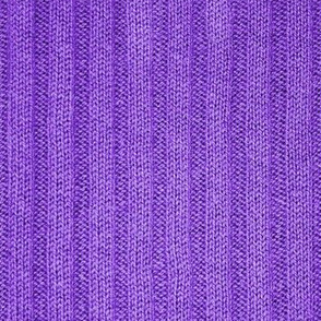 Ribbed Knit Pattern Purple