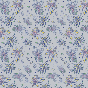 Floral Occasion Gray
