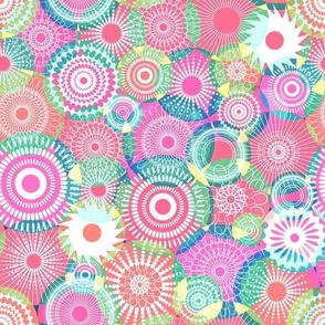 Kooky Kaleidoscope Pastel