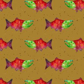 Salmon Run- Mustard