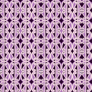 simple repeat purple
