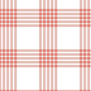 Scandi Flair-Red-Grid